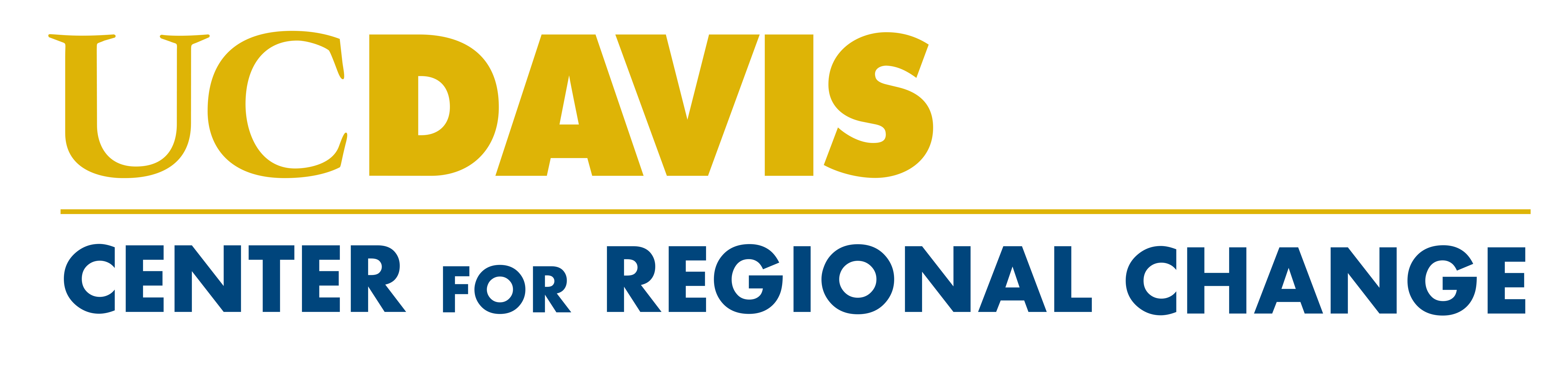 UC Davis Center for Regional Change